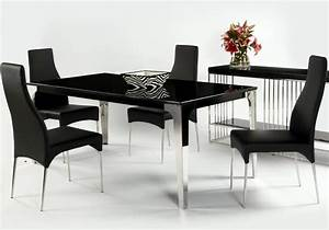 Chintaly Imports Crystal 5 Piece Leg Table And Chair Set