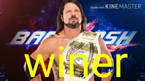 Check spelling or type a new query. WWE Backlash 2020 match card predictond and winer - YouTube