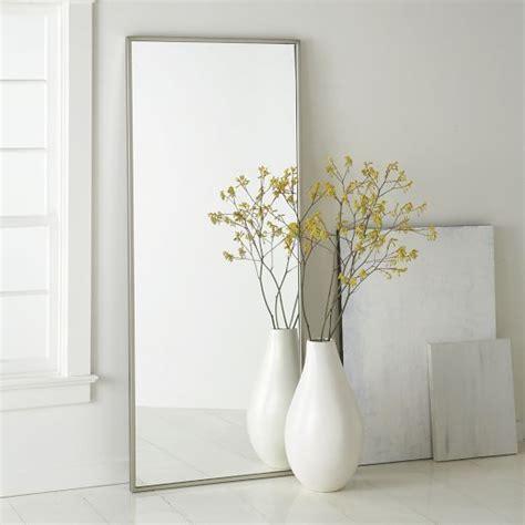 floor mirror west elm metal floor mirror