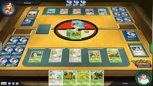 now everyone can play the pokmon trading card game online