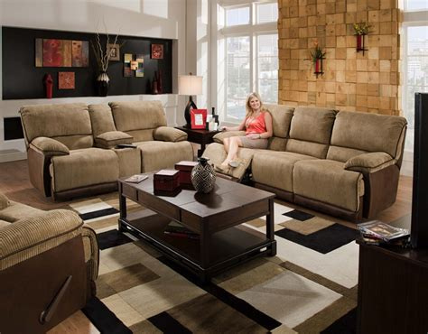 And Loveseat Cover Sets by Clayton 2 Reclining Sofa Loveseat Set In Two Toned