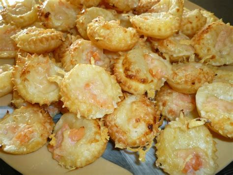 mini pizza au saumon les d 233 lices de th 233