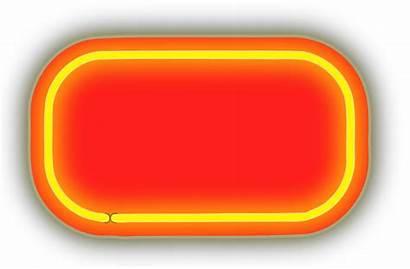 Neon Clipart Backgrounds Numerals Lighting Svg Orange
