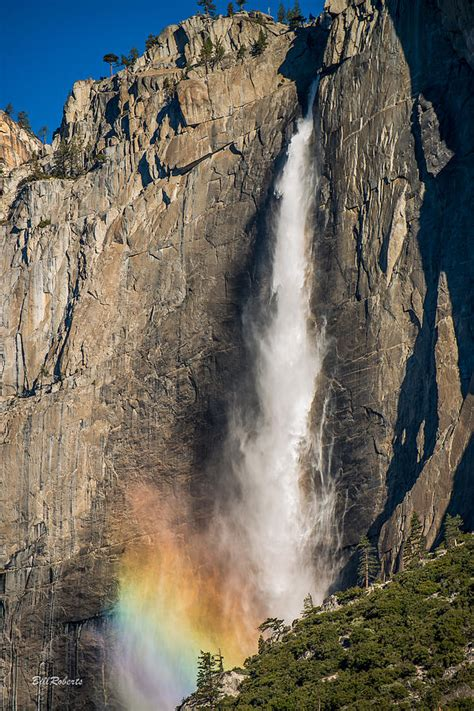Yosemite Falls Rainbow Photograph Bill Roberts