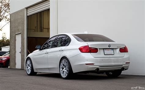 Mineral White by Mineral White Bmw F30 3 Series Gets A Set Of Wheels