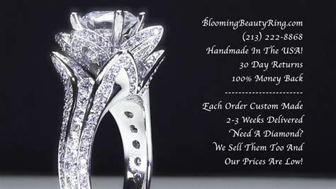 original 1 78 ctw large blooming ring setting