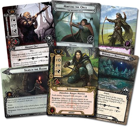 lotr lcg deck builder lost realm cards