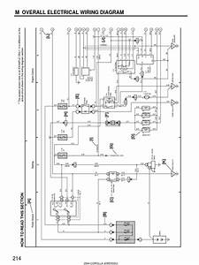 2004 Corolla Electrical Diagram