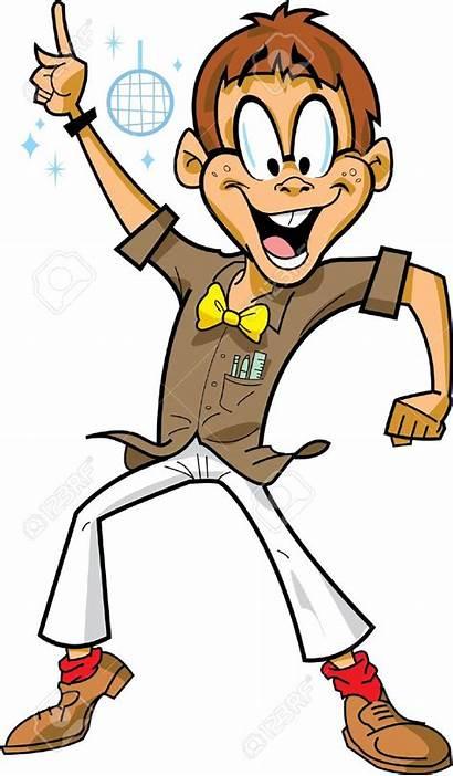 Dancing Boy Clipart Happy Disco Party Nerd