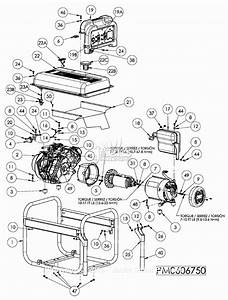 Powermate Formerly Coleman Pm0606750 Parts Diagram For