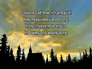 THE LOVE OF GOD - Traditional Hymns - YouTube