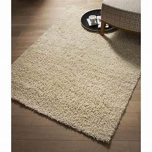 tapis beige shaggy pop l120 x l170 cm leroy merlin With tapis chez leroy merlin