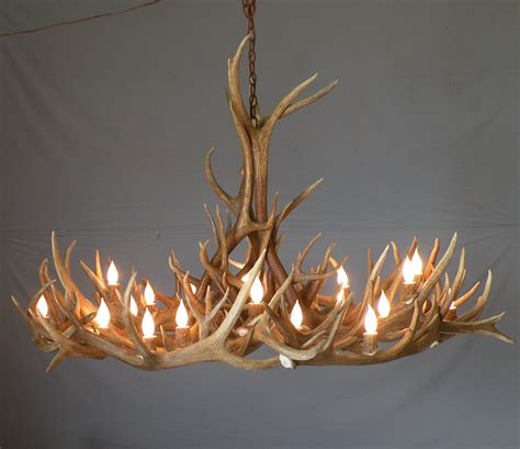 antler furniture chandeliers l deer magnificant