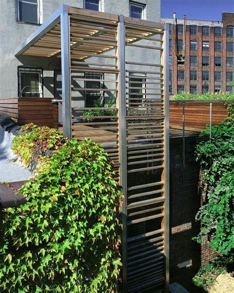 urban trellis roof deck modern deck new york by