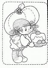 Coloring Muffin Strawberry Shortcake Colorear Popular Dibujos Fresas sketch template