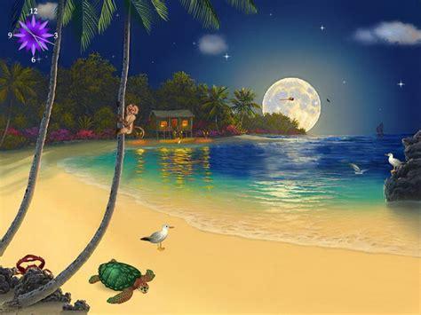 lunar solitude moon screensaver