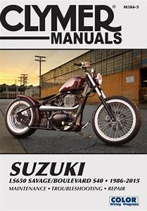 Suzuki Ls650 Savage Boulevard S40 Motorcycle  1986