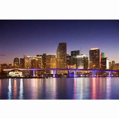 Skyline Miami Acrylic