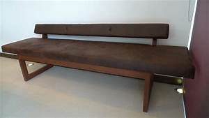 High Back Upholstered Bench Seat Benches