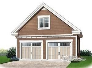 two car garage designs ideas d 233 du plan de garage w2989 24