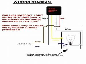 Electrical Circuit Diagram With Light Bulbs