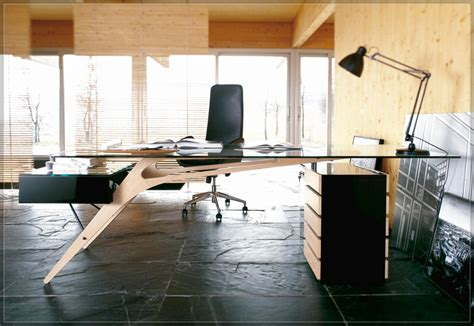 wooden office desk with glass top furniture modern white wooden office desk which is having
