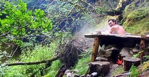 outdoor badewanne mit offenem feuer garten ideen mauern With whirlpool garten mit feuer balkon