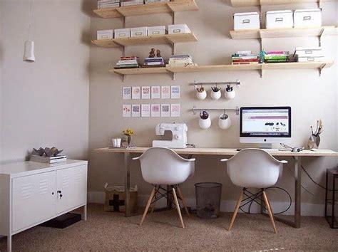 bureau collectif les 25 meilleures idées concernant bureau pour deux