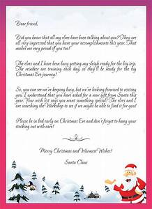 Kids letters to santa enjoy christmas with santa claus for Santa letter to kids