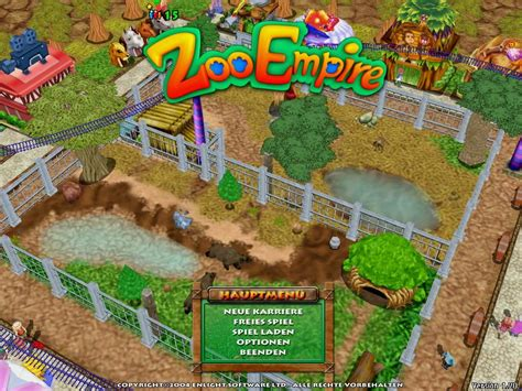 zoo empire game games 2004 windows simulation screenshots