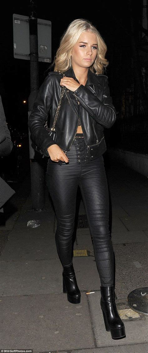 Best Hot Women In Leather Images On Pinterest