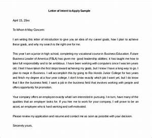 17+ Free Letter of Intent Templates  Free Sample, Example Format Download! Free & Premium