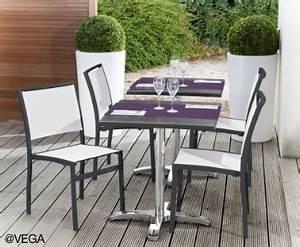Mobilier De Terrasse : vega largit sa gamme de mobilier terrasse en toile batyline ~ Teatrodelosmanantiales.com Idées de Décoration