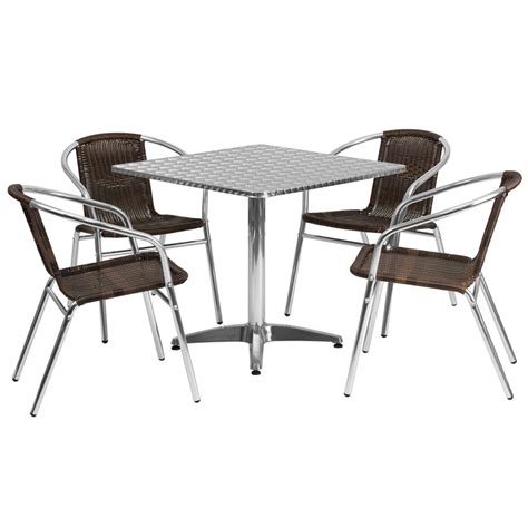 lunchroom and breakroom cafe bistro tables