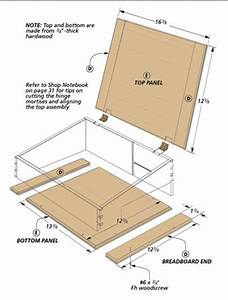Traditional Lap Desk Woodsmith Plans