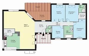 Idée Construction Maison : cuisine photo de maison contemporaine plain pied jpg id e ~ Premium-room.com Idées de Décoration