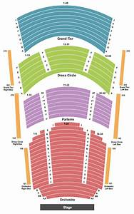Anheuser-busch Performance Hall Seating Chart  U0026 Maps