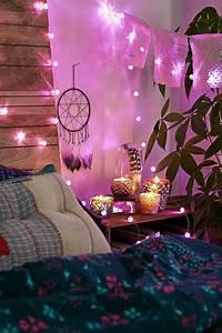Guirlande Lumineuse Chambre Fille : decoration lumineuse chambre ~ Nature-et-papiers.com Idées de Décoration