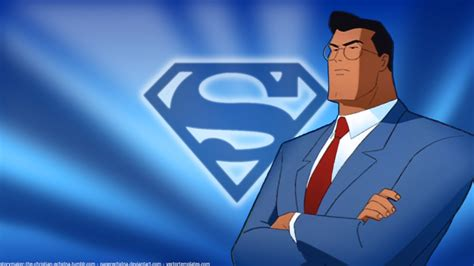 Superman Animated Wallpaper - superman tas clark kent wallpaper by paperechidna on