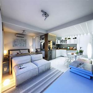2 Super Small Apartments Under 30 Square Meters (~325 ...