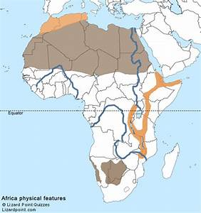 Test your geography knowledge - Africa: physical features ...