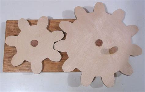 making wooden gears   plywood