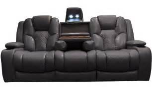 reclining sofa bastille power reclining sofa with drop table