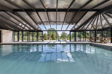 toiture pour veranda en polycarbonate abri pour piscine haut v 233 randa int 233 gr 233 au paysage cover