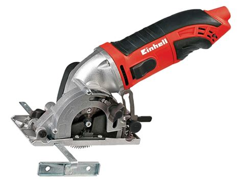 Einhell Tccs 8602 450 Watt Mini Circular Saw Kit 240 Volt