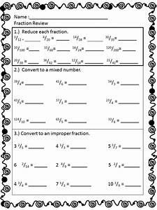 5th Grade Math Test Fractions - fraction worksheet for ...