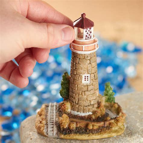 Miniature Stone Lighthouse Fairy Garden Miniatures