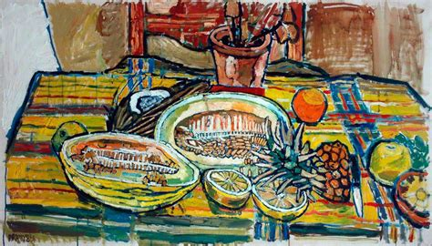 bratby kitchen sink chew honeydew 1962 bratby wikiart org 4904