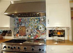 18 gleaming mosaic kitchen backsplash designs for Mosaic designs for kitchen backsplash