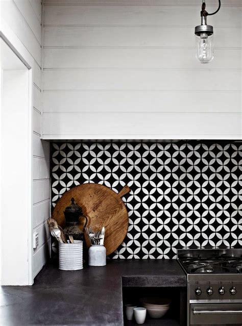 carrelage cuisine blanc et noir vous cherchez des idées pour un carrelage noir et blanc